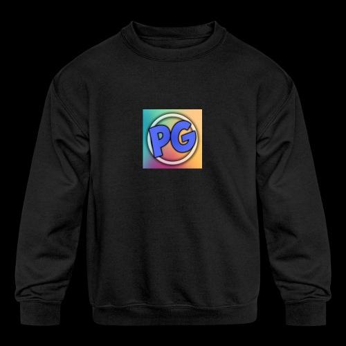 Preston Gamez - Kids' Crewneck Sweatshirt