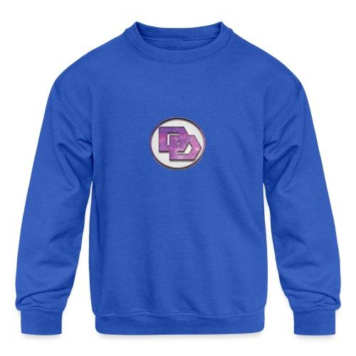 DerpDagg Logo - Kids' Crewneck Sweatshirt