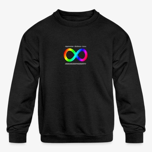 Embrace Neurodiversity - Kids' Crewneck Sweatshirt