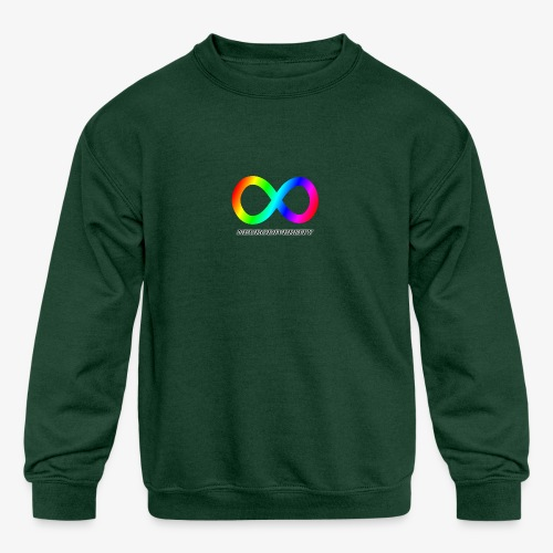 Neurodiversity - Kids' Crewneck Sweatshirt