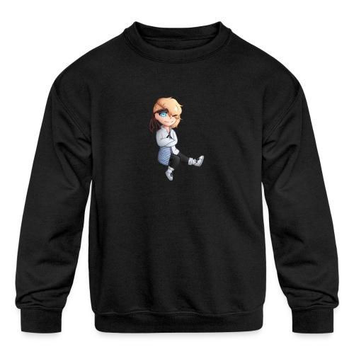Martial Art Master Waifu Pancakes - Kids' Crewneck Sweatshirt