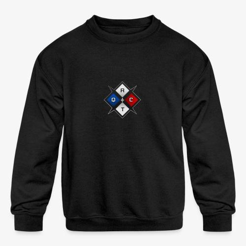 RTQC Logo - Kids' Crewneck Sweatshirt