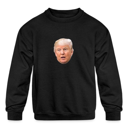 I will build a wall - Kids' Crewneck Sweatshirt