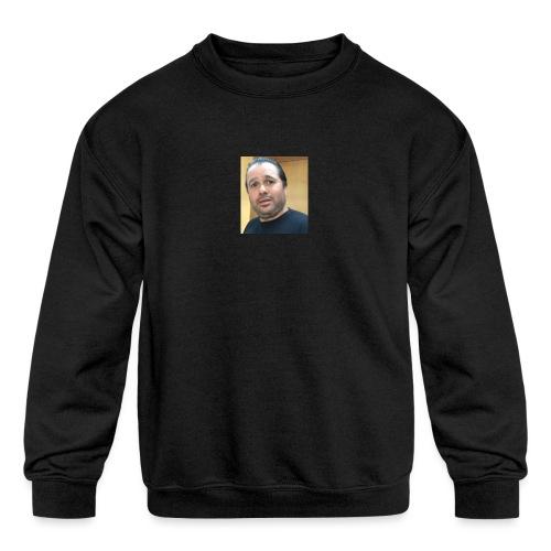 Hugh Mungus - Kids' Crewneck Sweatshirt