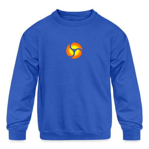 triskele harmony - Kids' Crewneck Sweatshirt