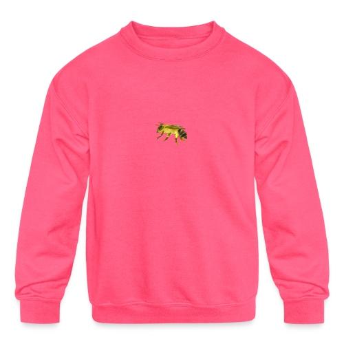 Small Bee - Kids' Crewneck Sweatshirt