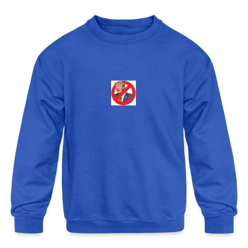 blog stop trump - Kids' Crewneck Sweatshirt