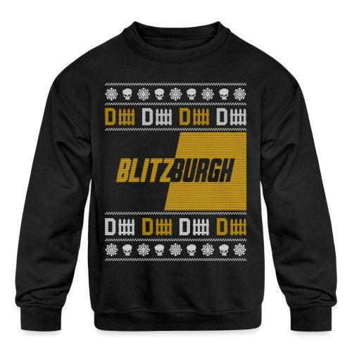 Blitzburgh - Kids' Crewneck Sweatshirt