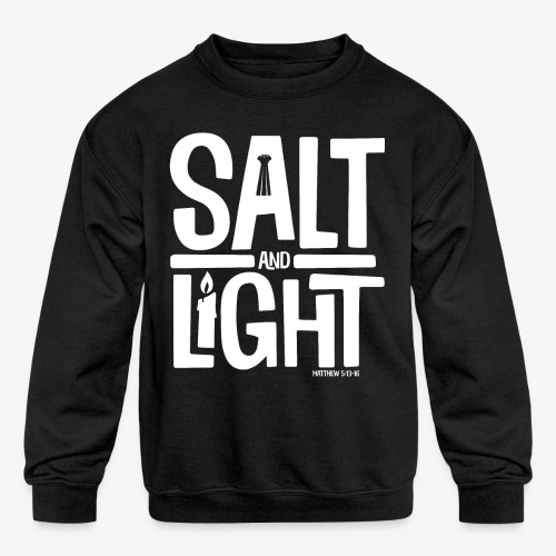 Salt + Light - Kids' Crewneck Sweatshirt