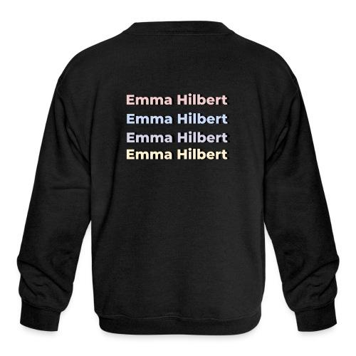 Emma Hilbert All over - Kids' Crewneck Sweatshirt