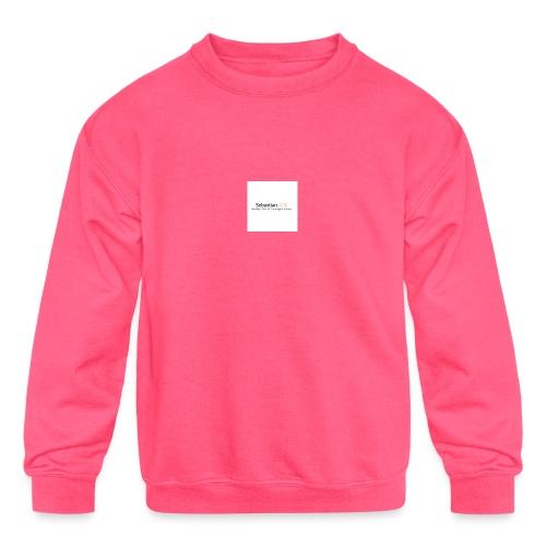 YouTube Channel - Kids' Crewneck Sweatshirt