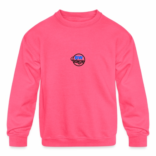 BW Logo - Kids' Crewneck Sweatshirt
