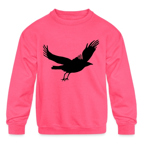 Crow - Kids' Crewneck Sweatshirt