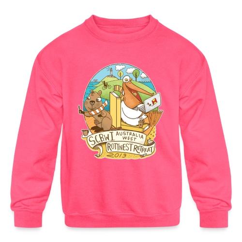 SCBWI Australia West 2019 Rottnest Retreat - Kids' Crewneck Sweatshirt