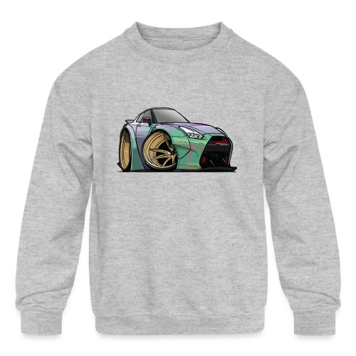 R35 GTR - Kids' Crewneck Sweatshirt