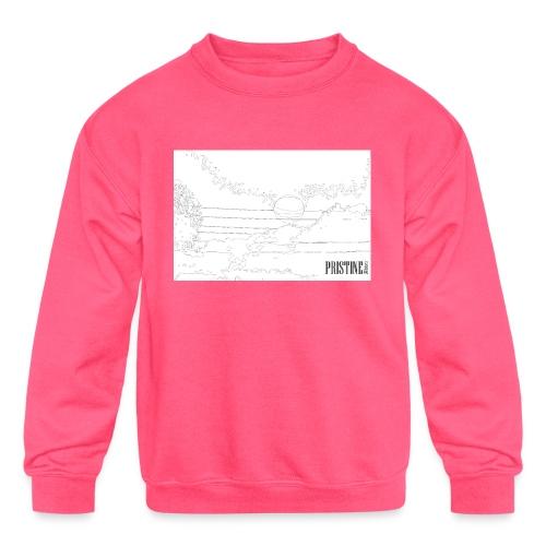 SunLines - Kids' Crewneck Sweatshirt