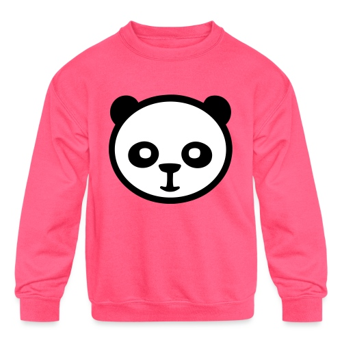 Panda bear, Big panda, Giant panda, Bamboo bear - Kids' Crewneck Sweatshirt