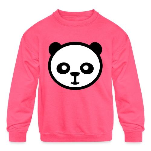 Panda bear, Big panda, Giant panda, Bamboo bear - Kids' Crewneck Sweatshirt