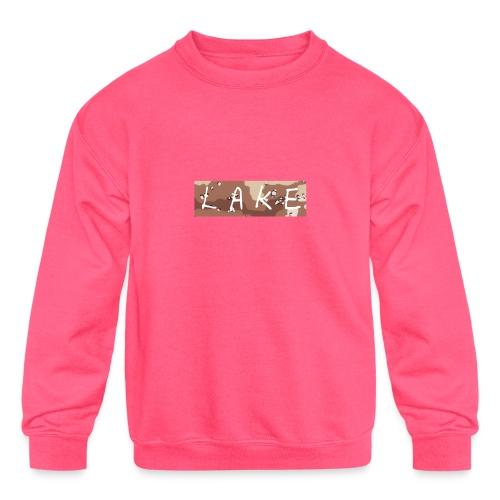 LAKE_LOGO2 - Kids' Crewneck Sweatshirt