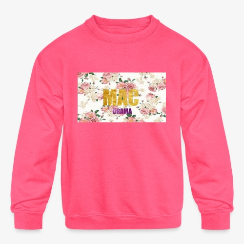 drama - Kids' Crewneck Sweatshirt