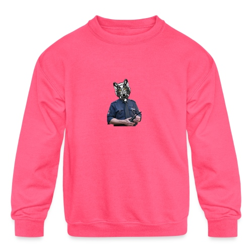 wolf police - Kids' Crewneck Sweatshirt