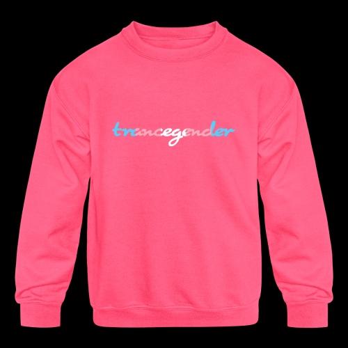 trancegender - Kids' Crewneck Sweatshirt