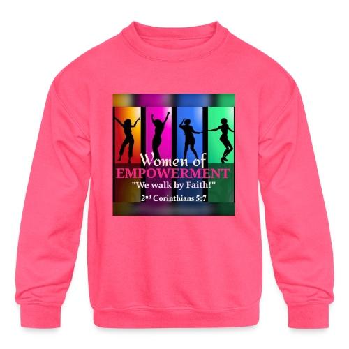 Woman Of Empowerment - Kids' Crewneck Sweatshirt