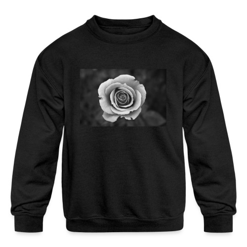 dark rose - Kids' Crewneck Sweatshirt