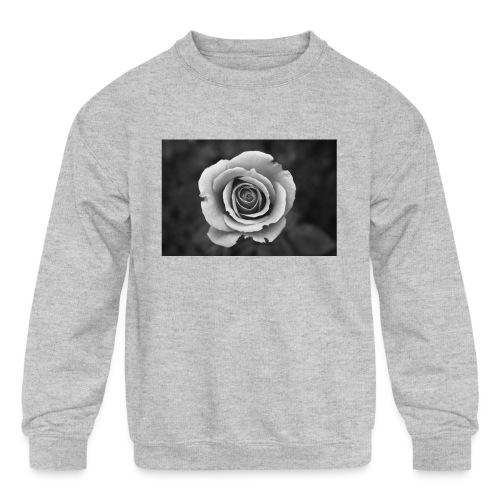 dark rose - Kids' Crewneck Sweatshirt