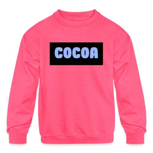 tmclogoshirt 2 - Kids' Crewneck Sweatshirt