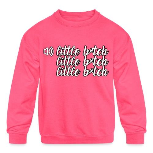 Whostun Classic rage after death - Kids' Crewneck Sweatshirt