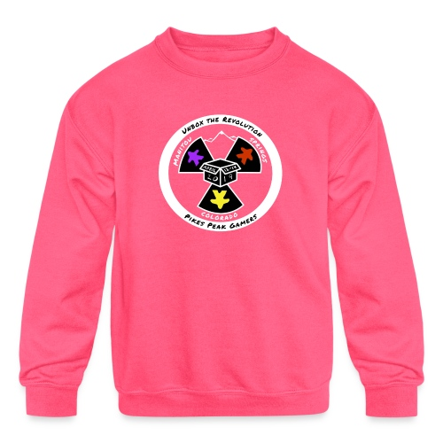 Pikes Peak Gamers Convention 2019 - Clothing - Kids' Crewneck Sweatshirt
