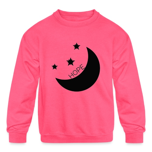 Hope - Kids' Crewneck Sweatshirt