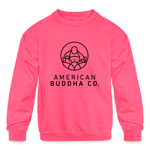 AMERICAN BUDDHA CO. ORIGINAL - Kids' Crewneck Sweatshirt