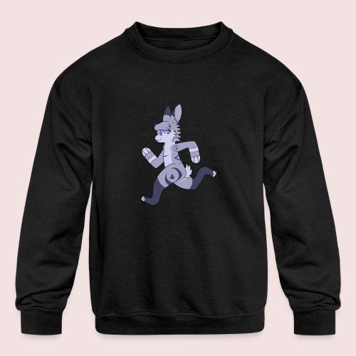 Breezy Bunny - Kids' Crewneck Sweatshirt