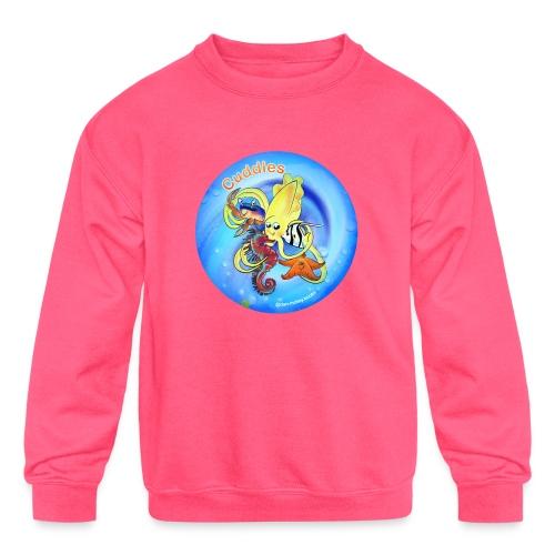 Cuddles clothes print. - Kids' Crewneck Sweatshirt
