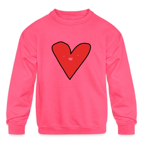 Heart - Kids' Crewneck Sweatshirt