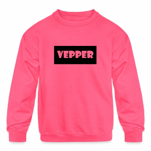Vepper - Kids' Crewneck Sweatshirt