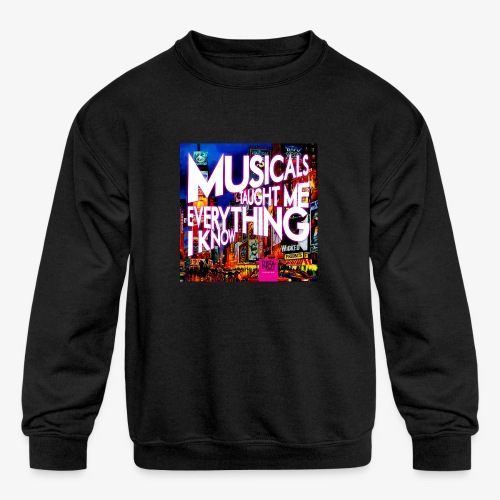 MTMEIK Cover - Kids' Crewneck Sweatshirt