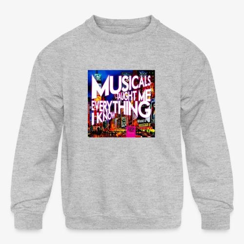 MTMEIK Cover - Kids' Crewneck Sweatshirt