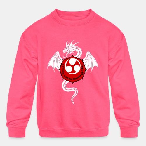 Dragon (W) - Larose Karate - Design Contest 2017 - Kids' Crewneck Sweatshirt