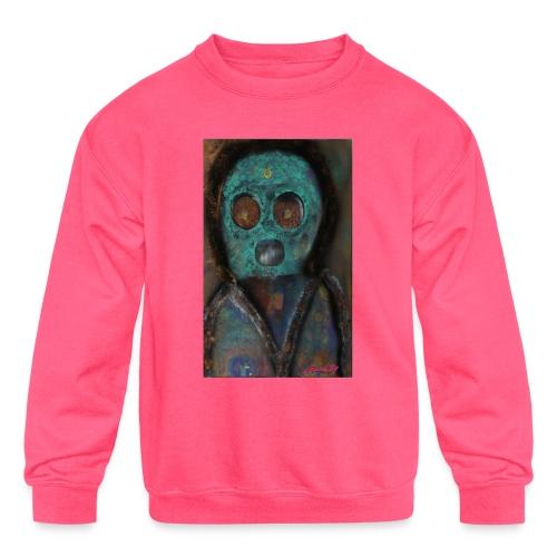 The galactic space monkey - Kids' Crewneck Sweatshirt