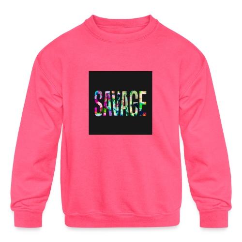 Savage Wear - Kids' Crewneck Sweatshirt