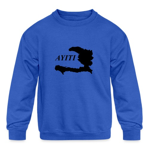Hispaniola - Kids' Crewneck Sweatshirt