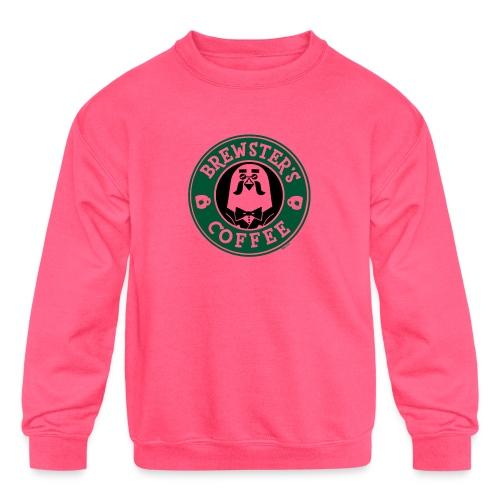 Brewster's Coffee - Kids' Crewneck Sweatshirt