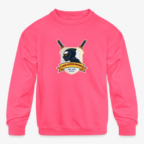 Tcg Official Logo - Kids' Crewneck Sweatshirt