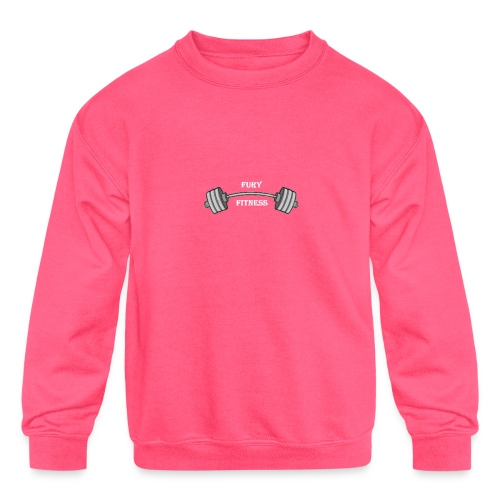 Fury Fitness - Kids' Crewneck Sweatshirt