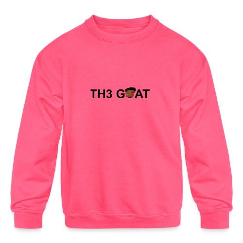 The goat cartoon - Kids' Crewneck Sweatshirt