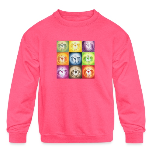 Heartangel Mix - Kids' Crewneck Sweatshirt