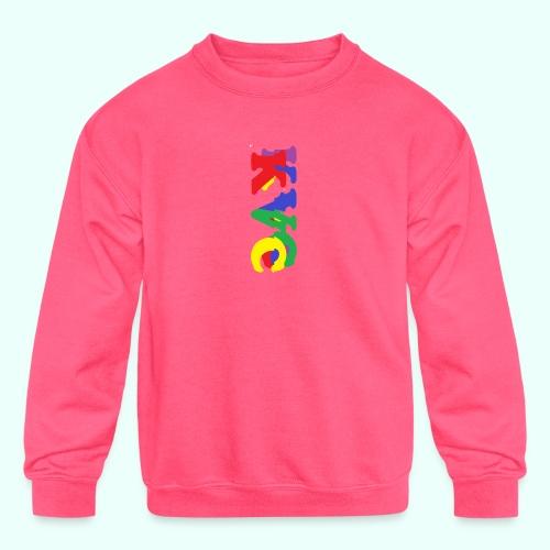 1 - Kids' Crewneck Sweatshirt